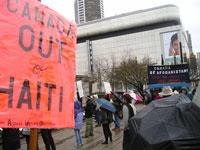 Canada Out of Haiti! February 26th 2006